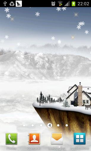 float island in winter lwp