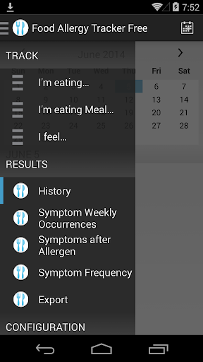 Food Allergy Tracker Free