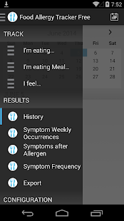 Food Allergy Tracker Free- screenshot thumbnail