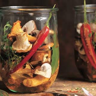 How to Make Marinated Mushrooms.