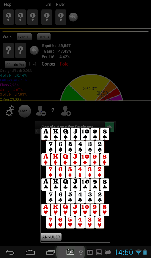 Card player poker review