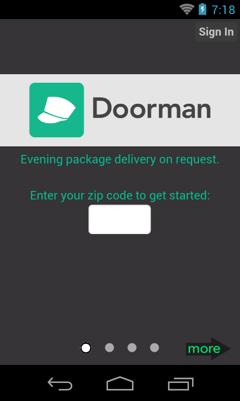 Doorman - screenshot