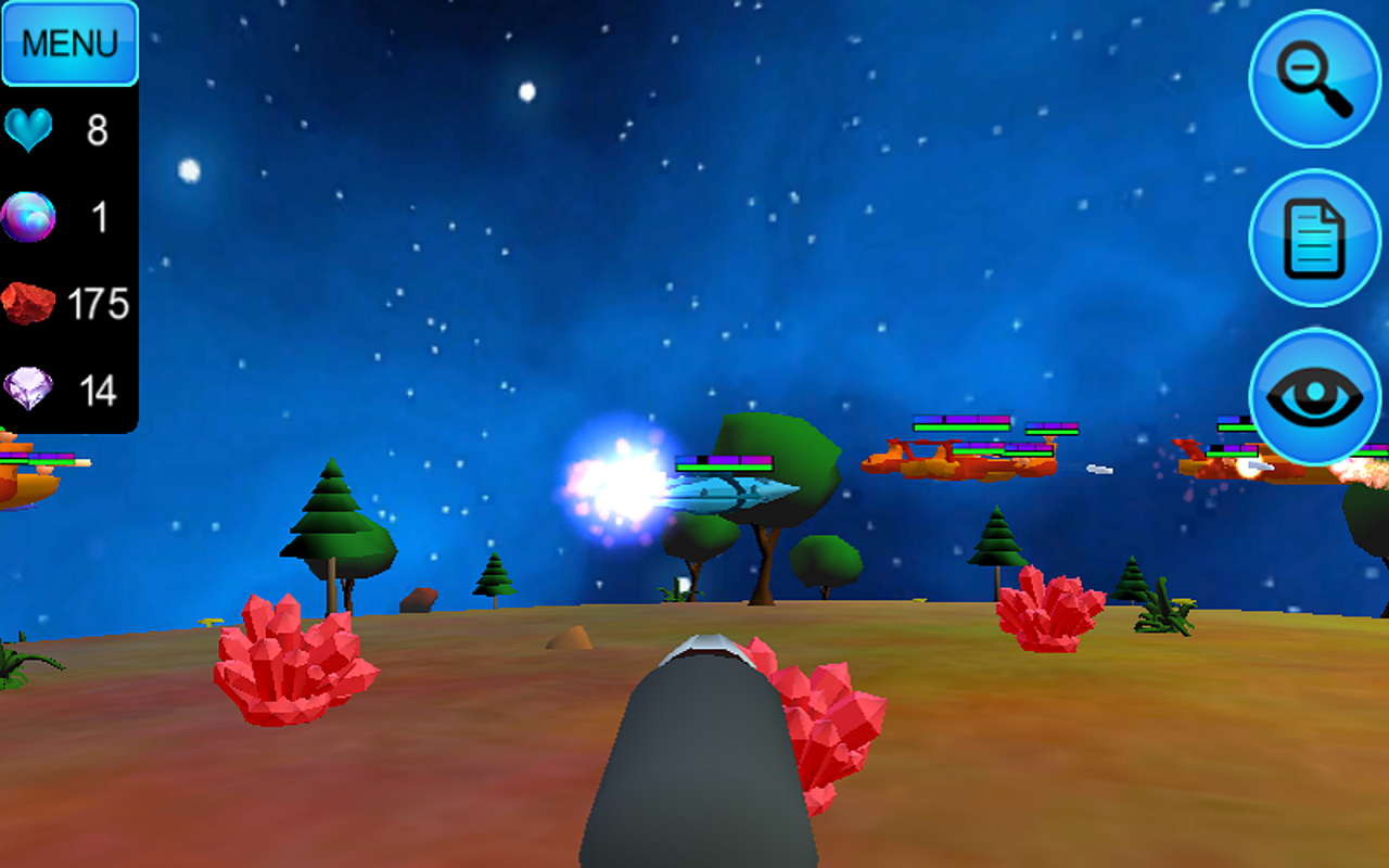 Hostile Tower Defense 3D - screenshot