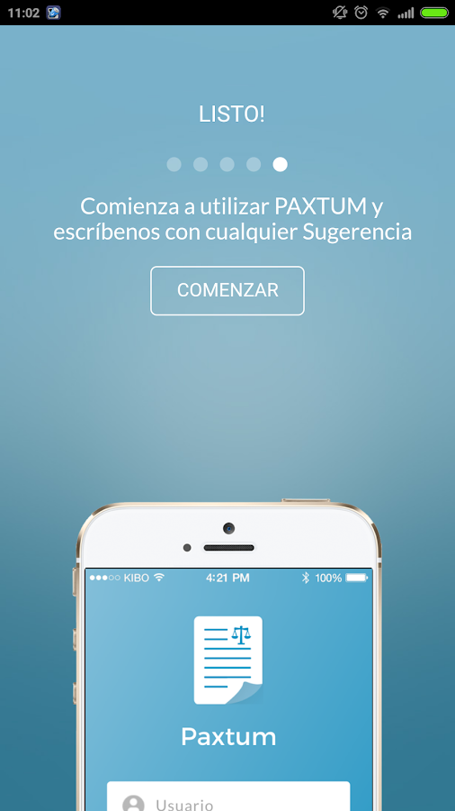 Paxtum- screenshot