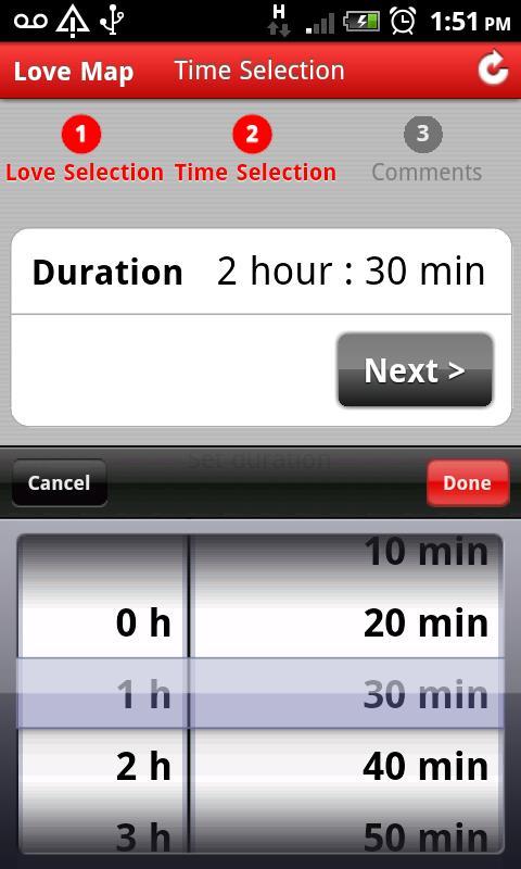 I Love - Love Map,Love locator- screenshot
