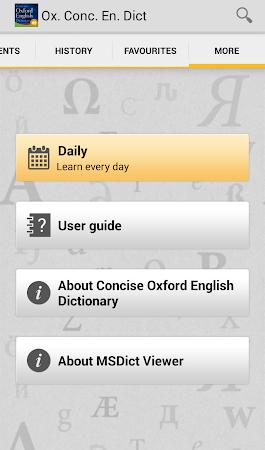 Concise Oxford English TR 4.3.136 screenshot 75446