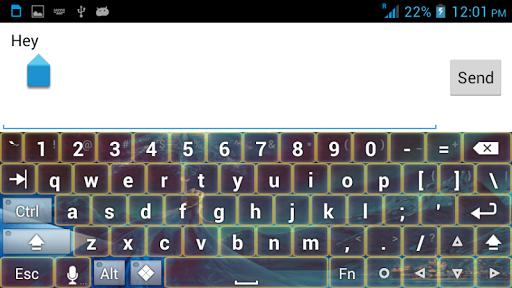 冷冻主题键盘