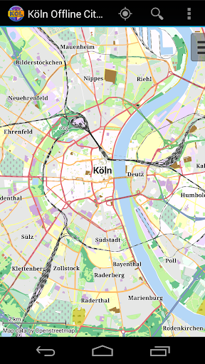 Cologne Offline City Map