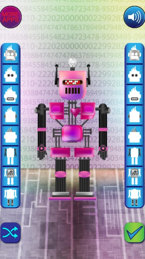 Make a Robot - screenshot