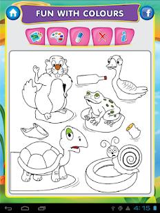 Kids Draw Color Hygiene Story Screenshot Thumbnail