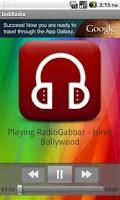 Screenshot of Online Hindi Radio