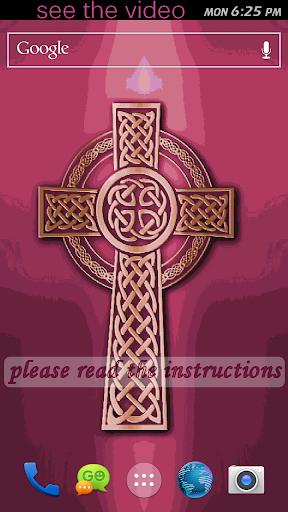 Gaelic Cross Live Wallpaper