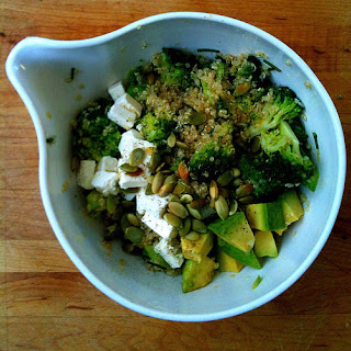 Lemony Quinoa Broccoli Salad.