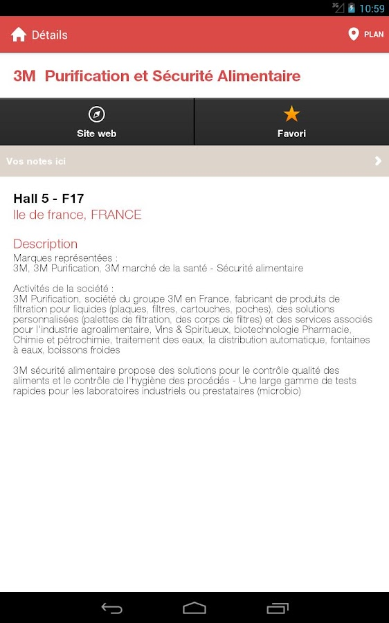 CFIA Rennes - screenshot