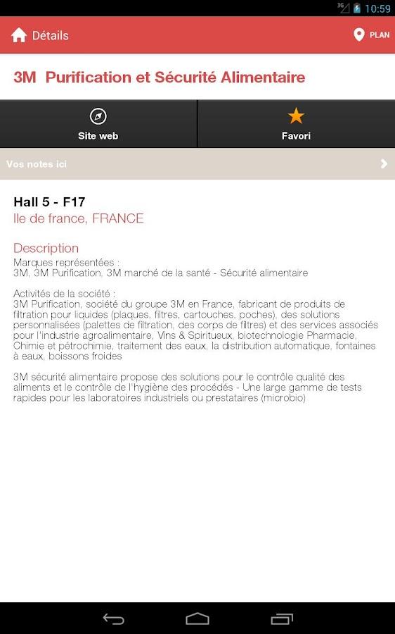 CFIA Rennes - screenshot