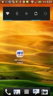 NFC 捷運路線圖 台北