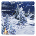 Winter Schnee Live Wallpaper icon