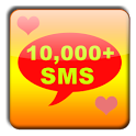 10000+ SMS Messages Collection icon