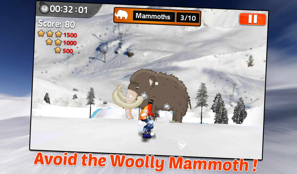 Snowboard King- screenshot