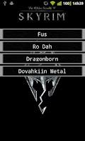 Screenshot of Instant Fus Ro Dah