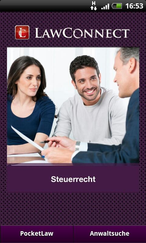 Steuerrecht- screenshot