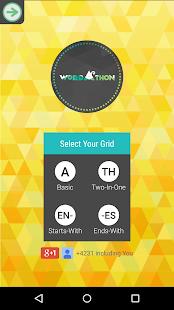 Wordathon: Boggle Word Game - screenshot thumbnail