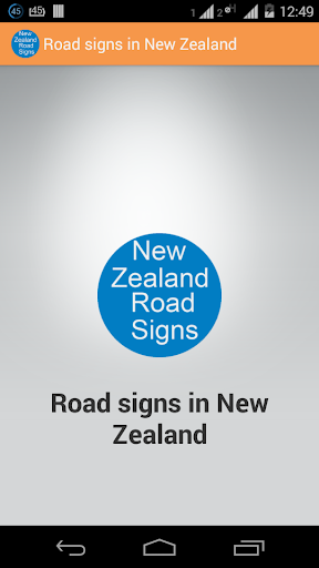 New Zealand Traffic Signs