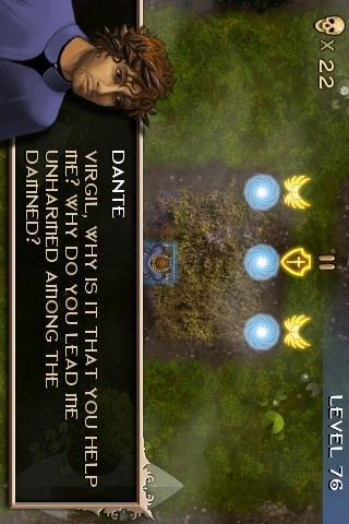 Dante: THE INFERNO game - screenshot