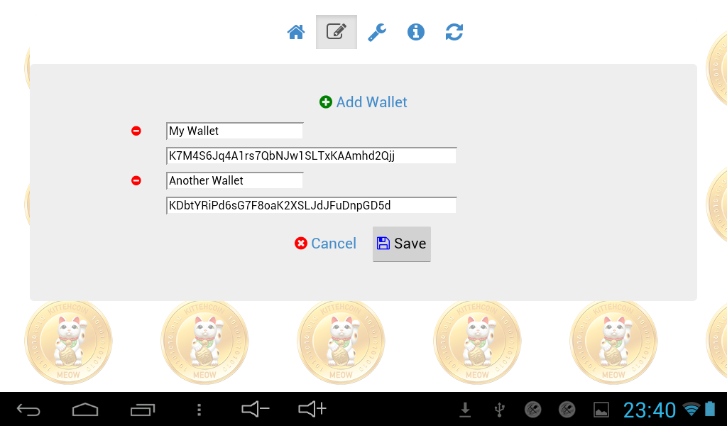KittehCoin Balance- screenshot
