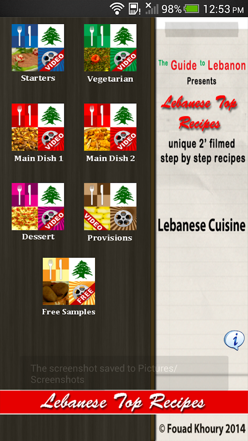 Lebanese Top Recipes- screenshot