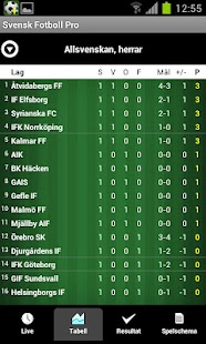 Svensk Fotboll - screenshot thumbnail