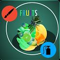 Paint fruits