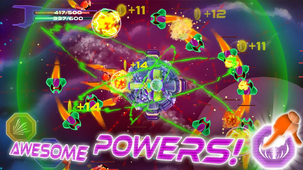 Space Defense - Shooting Game - screenshot