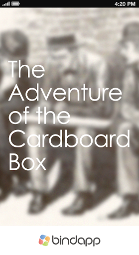Adventure of the Cardboard Box