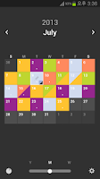 Screenshot of Color Calendar