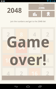 2048 (using Kivy)- screenshot thumbnail