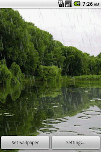 4D Rain Waterfall LWP No ADS