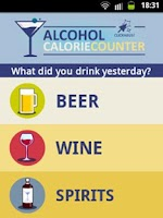 Screenshot of Alcohol Calorie Counter
