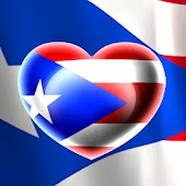 Love Puerto Rico Flag LWP