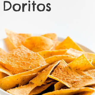 Homemade Doritos.