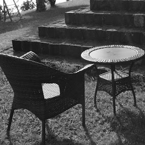 The Chair and Table !!! by Rushi Chitre - Artistic Objects Furniture