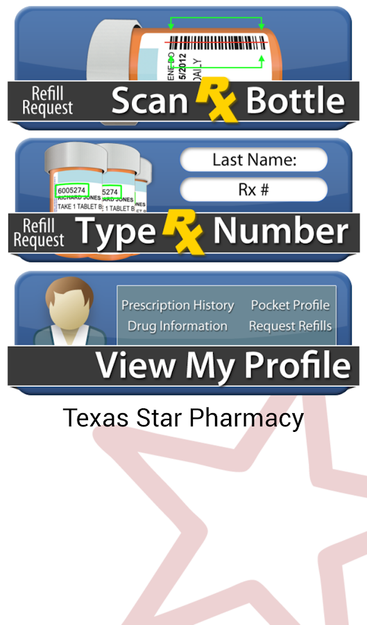 Texas Star Pharmacy- screenshot