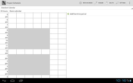 Project Schedule Screenshot 10