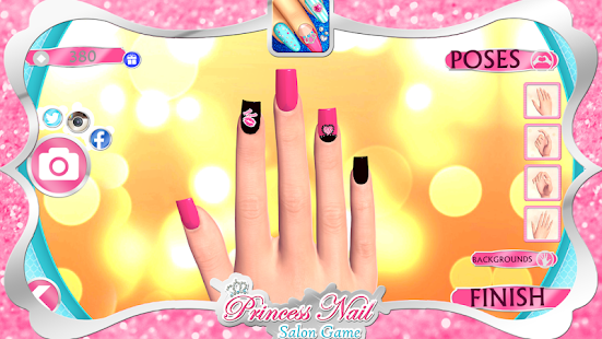 Princess nail salon game android apps on google play princess nail salon game screenshot thumbnail prinsesfo Images