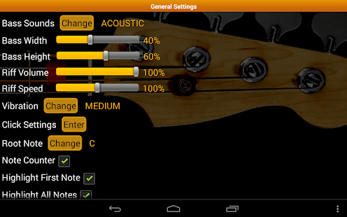 Bass Guitar Tutor Pro- screenshot thumbnail
