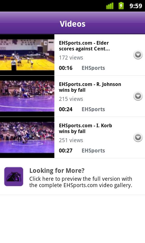EHS Mobile Sports Lite- screenshot