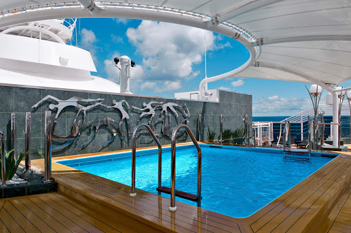 MSC-Divina-Yacht-Club-pool - The private club in the MSC Yacht Club area of MSC Divina.