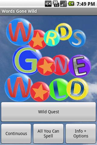 Words Gone Wild - screenshot