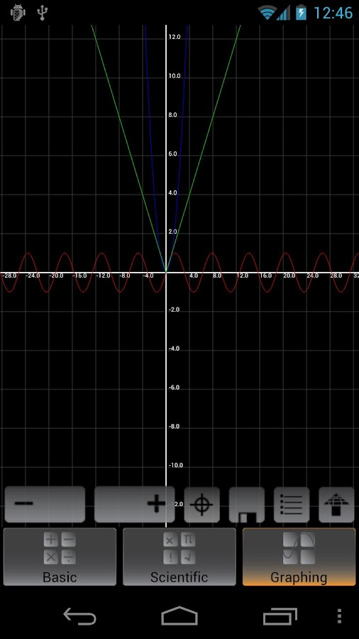 Graphing Calculator- screenshot