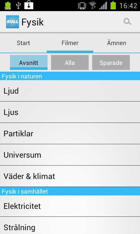 Koll på Fysik [Gratis] - screenshot
